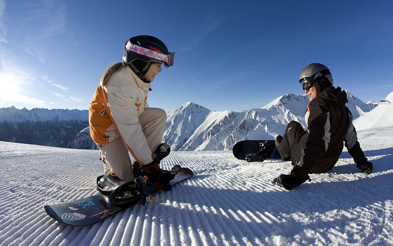 Serfaus Snowboard