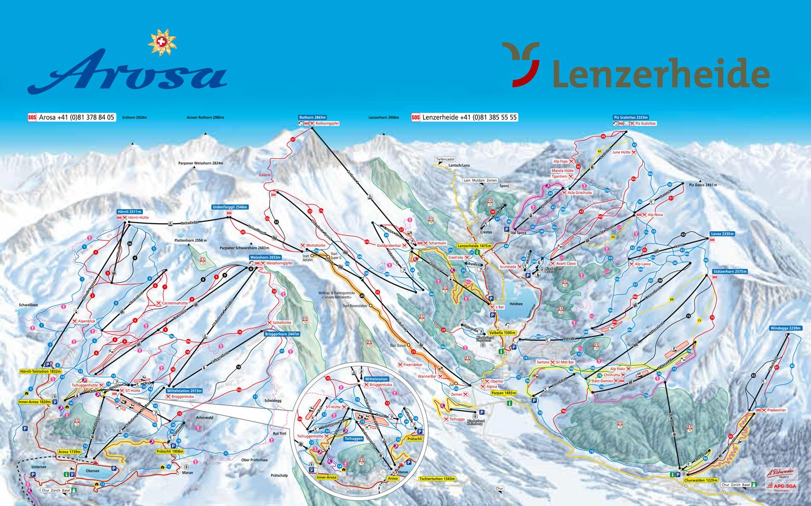 Arosa Switzerland Skiing Switzerland top Swiss ski resorts