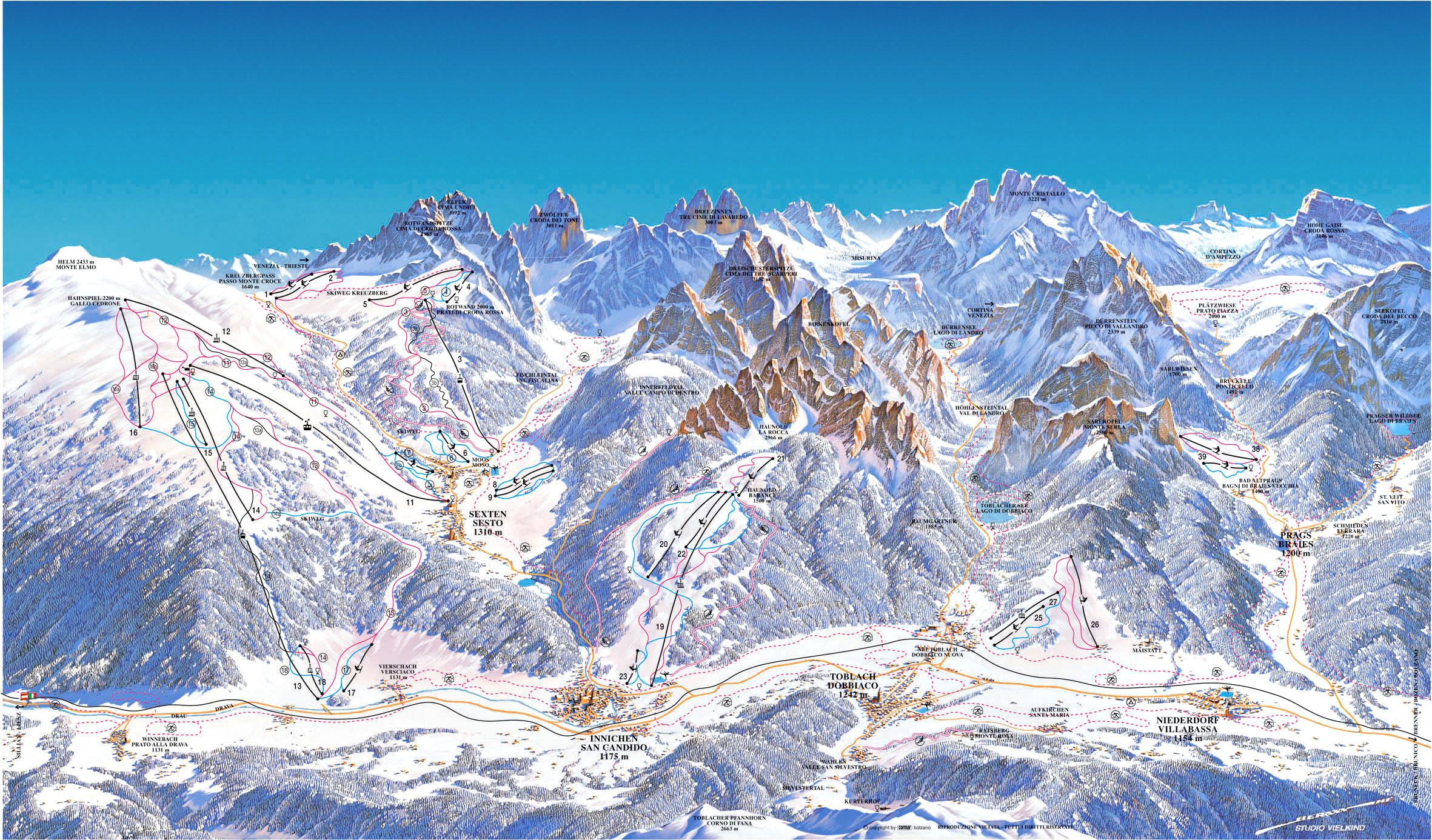Alta Pusteria Italy Skiing Italy Italian ski resorts